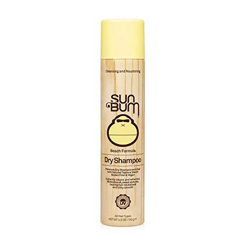 Sun Bum Revitalizing Dry Shampoo | Hair Refreshing Texture and Volumizing Spray | Paraben Free, Oil Free, Gluten Free, Vegan | 4.2 OZ Bottle