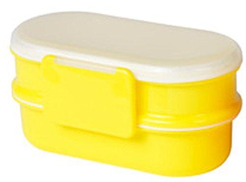 Ikea TJENIS Lunchbox in 2 Farben (gelb)
