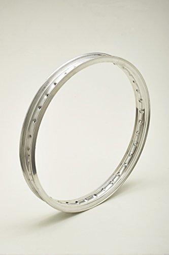 Jante en aluminium avec bord et profil H pour moto d'époque jusqu'aux années 70 Wheel Rim WM1 1,60 x 19 40 trous