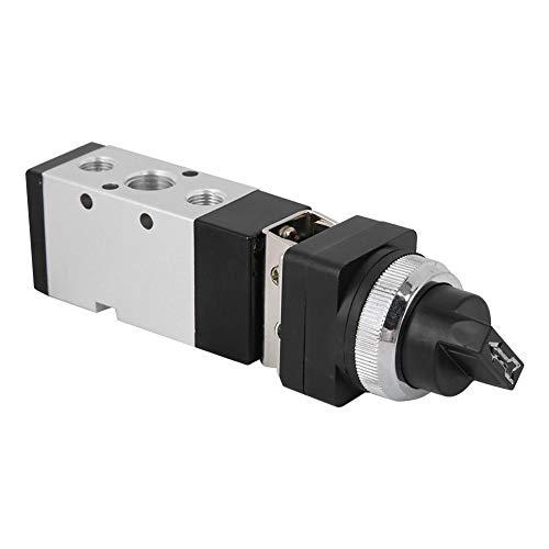 Interruptor de válvula mecánica, MSV86522-TB de 2 posiciones de 5 vías válvula de encendido/apagado para sistema neumático
