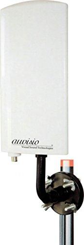 auvisio DVB T2 Antenne: Aktive DVB-T/T2 Außenantenne TX-260TR, 25dB (DVBT Außenantenne)