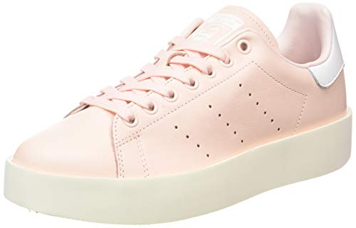 adidas Damen Stan Smith Bold W Sneakers, Rosa Roshel/Ftwbla, 43 1/3 EU