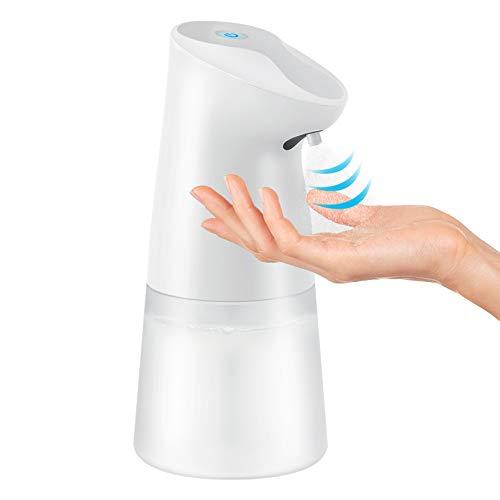 Homnoble Dispensador automático de desinfectante pulverizador de Alcohol 450ml, dispensador automático de Spray con Sensor de Infrarrojos, pulverizadores sin Contacto para cocinas, oficinas, colegios