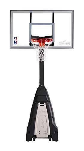 Spalding The Beast Portable Basketball Hoop 60 Inch Glass Backboard