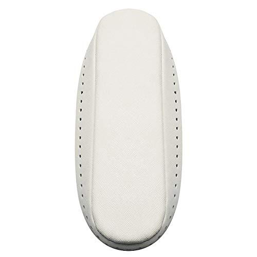 Tashido Bolso de ganchillo de piel sintética con forma de barco y fondo blanco crema