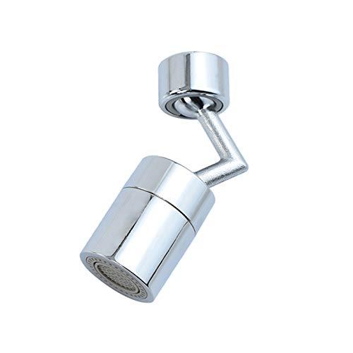 Rotable Ajustable Faucet Giratorio Extender Pullter Head Anti Splash Ahorro de Agua Tap Booster Faucet Water-Tap Garden Cocina Accesorios de baño (Color : 1 pcs)