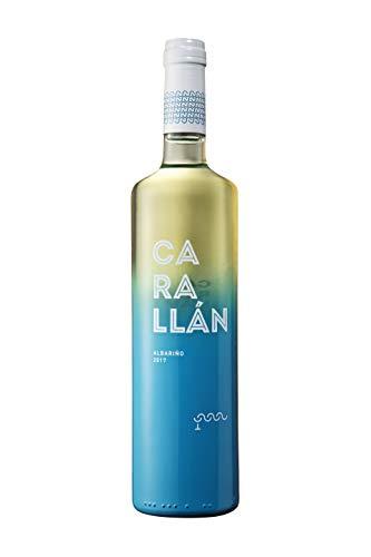 CARALLÁN Vino Blanco Albariño D.O. Rías Baixas - Pack 6 botellas x 75 cl