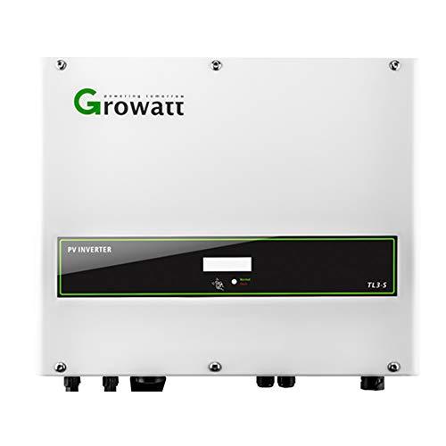 Inversor Solar 4 kW Trífasico/Conexión a Red 2 MPPT / 98% Eficiencia/Fácil Usar