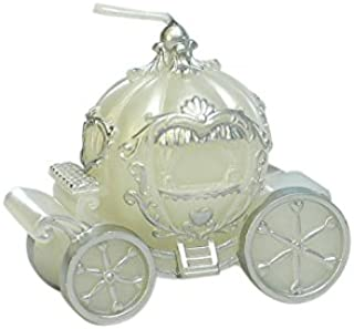 MEOLY Birthday Candles Smokeless for Party Supplies and Wedding Favor((White Pumpkin)