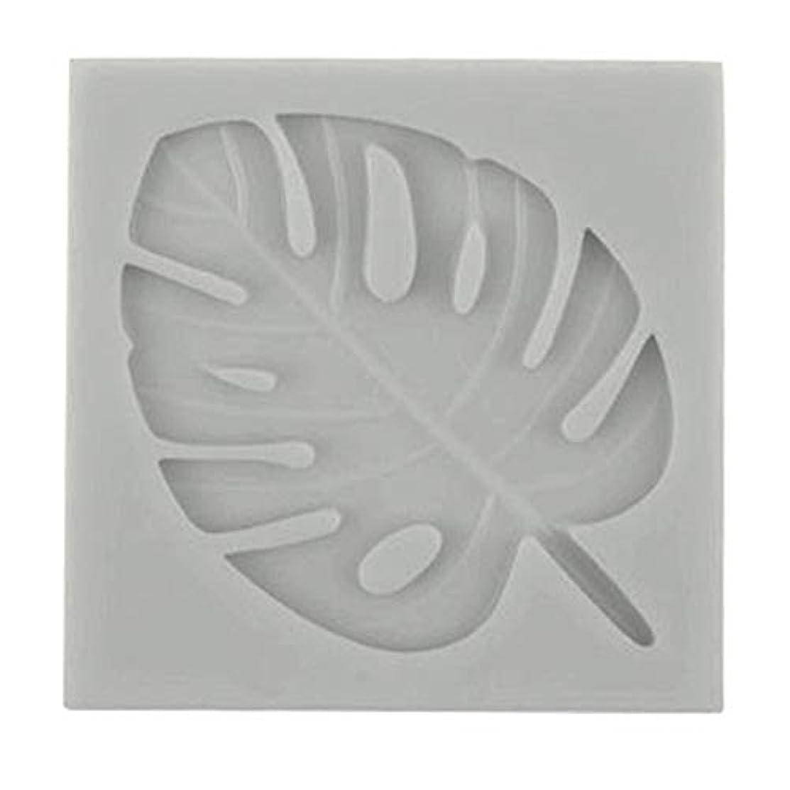 Paradise8 Silicone Fondant Mold Cake Decor Chocolate Sugarcraft Baking Tools Turtle Leaves (Gray)