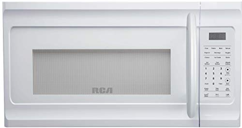 RCA RMW1630-WHITE RMW1630 1.6 Cu Ft White Over-The-Range Microwave Oven