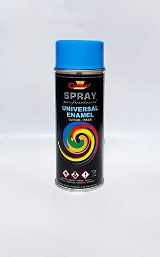 Sprühlack RAL Sprühfarbe Lackspray Spraydose 400ml - RAL 5012-1 Stück