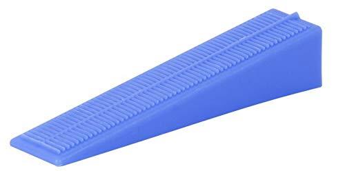 Cuñas de plástico para sistema de nivelación de baldosas, 100 unidades