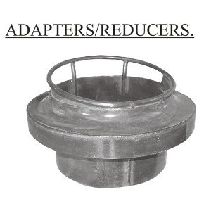 """Chinese Wok Range Adapter/Reducer Converts from 18"""" to 13"""" Wok Ring, Welded Metal"""