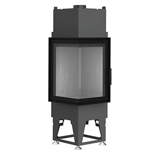 Bef Home Eck-Kamineinsatz Tower 5 EH mit 7 kW Leistung