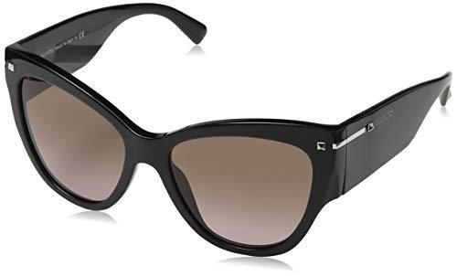 Valentino 0VA4028 500114 55 Gafas de sol, Negro (Black/Browngradientpink), Mujer