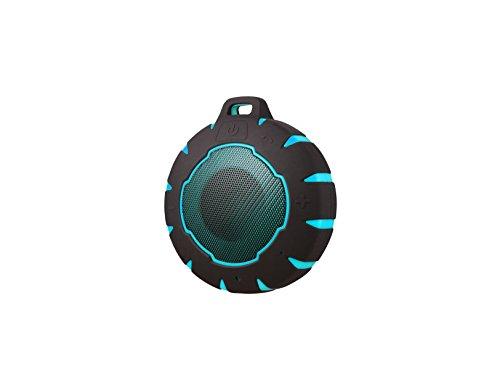 Sunstech SPBTAQUA - Altavoz Bluetooth, Color Azul