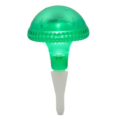 Konstsmide 7663-600 Assisi Balise LED solaire Fonctionne avec 1 pile AA Plastique Vert 14,5 x 14,5 x 27,5 cm