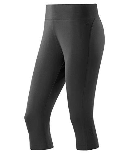 Joy Sportswear Fabrizia Damen Caprihose für Sport, Fitness & Freizeit Normalgröße, 40, Black