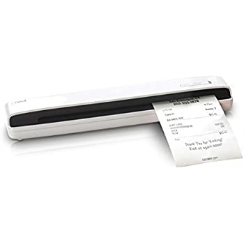 Neat Receipts Mobile Scanner and Smart Organization System, White (Refurbished)