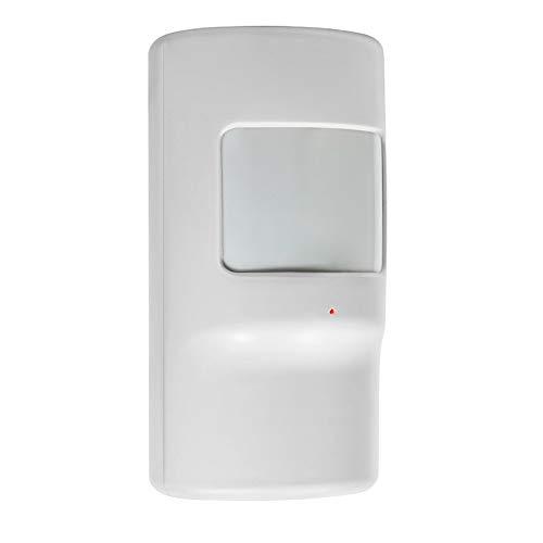 Detector de movimiento alarma Inalambrico EV1527 Bateria Interna G90 PIR8. Sensor infrarrojo detección intrusos interior de casa, oficina, hogares. Fácil de instalar. Central alarma (1 Detector)