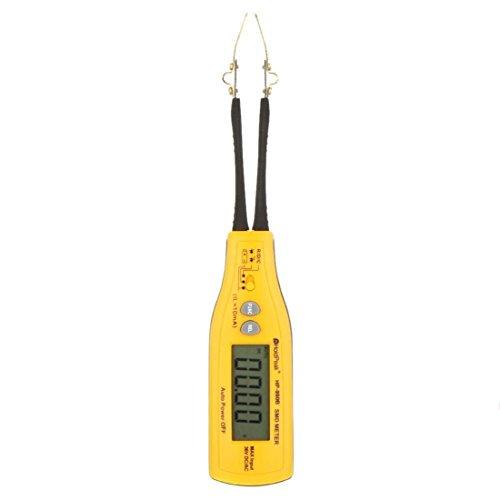 SMD Medidor - SODIAL(R) HP-990B Pinzas SMD Medidor Multimetro Probador de bateria del diodo del condensador de resistencia