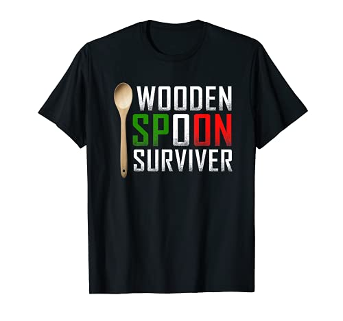 Wooden Spoon Survivor T-shirt Survived The Wooden Spoon