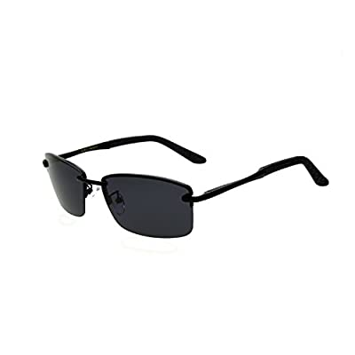 Zacway Polarized Spring Hinges Metal Predator Sunglasses for Men Women UV400 60mm