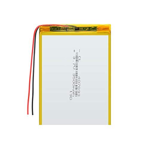 ahjs457 407093 3.7V 3500MAH Batería Recargable de polímero de Litio para Tableta de 7'Q8, Q88 A13, U25GT, 407095 GPS MP3 MP4 MP5 E-Book