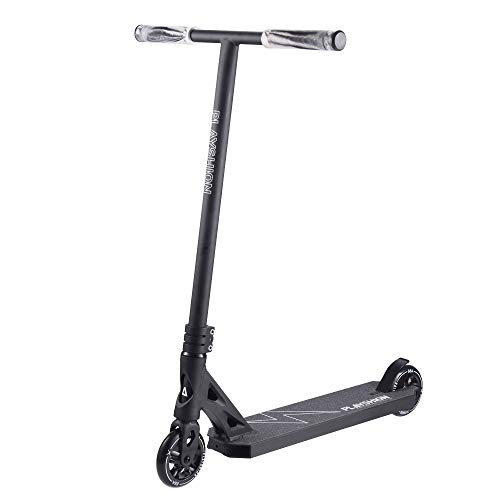 Pro Scooter Stunt Trick Scooters for Kids Adults Beginner and Pros, with 110mm Aluminum Core Wheels, Scooter Heights 31.5', Black