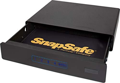 SnapSafe Under Bed Safe, Medium – Under Bed Gun...