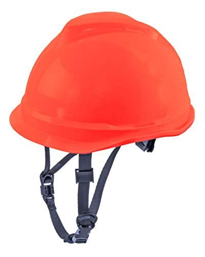 MSA 520 V-Gard Casco de Seguridad con Correa de Barbilla para la protección en...