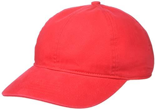 Amazon Essentials Gorra de béisbol, Rojo, One Size