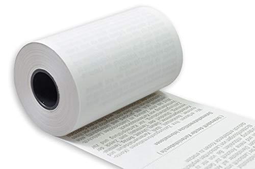 50 Stck. EC Thermorollen mit SEPA-Lastschrifttext 57mm x 9m x 12mm Rolle 30mm phenolfrei