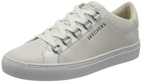 Skechers Side Street-Core-Set, Zapatillas Deportivas para Mujer, Blanco (White Wht), 37 EU