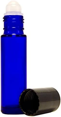144 Essential Oil Aromatherapy - with Blue Cobalt Bottle Department store Limited Special Price Glass