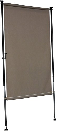 Angerer Balkon Sichtschutz Style Taupe, 270 x 120 x 225 cm, 2316/009