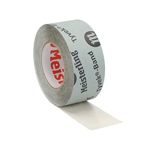 Meisterling® Tyvek®-Band für Unterspannbahn diffusionsoffen 60 mm x 25 m, Einzelrolle(n)