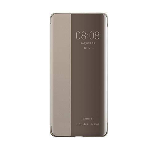 Huawei P30 Pro Custodia Flip Cover, Accessorio Originale, Kaki