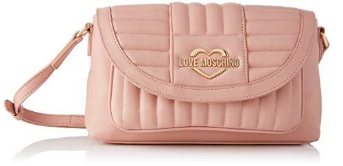 Love Moschino Precollezione SS21 | Borsa a Tracolla PU da Donna  Bandolera para Mujer  Rosa  Normal