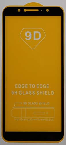 1x Full Cover Schutzglas für ASUS ZenFone Max Pro M1 ZB602KL in Schwarz Glasfolie 9H 5D 6D 9D Bildschirmschutzfolie Glass Premium Tempered Glass Protection (kein 3D Glas)
