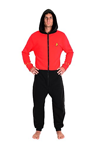 Star Trek The Original Series Scotty Rojo Lounger Onesie | 2XL