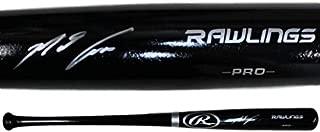 Nolan Arenado Autographed Signed Colorado Rockies Rawlings Black Bat FAN