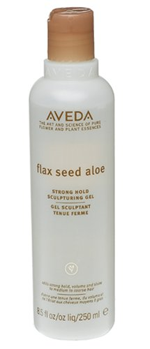 Aveda Flax Seed Aloe Strong Hold Sculpturing Gel, 8.5-Ounce Bottles (Pack of 2)