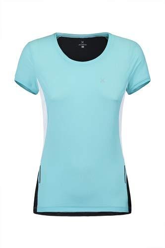 Montura Run Mix T-Shirt pour Femme Bleu Glacier, Bleu Arctique, m