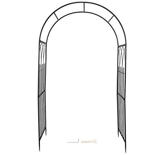 ffu Arcos De Jardín, Plantas Al Aire Libre Arcos De Hierro Escalada Decoración De Boda