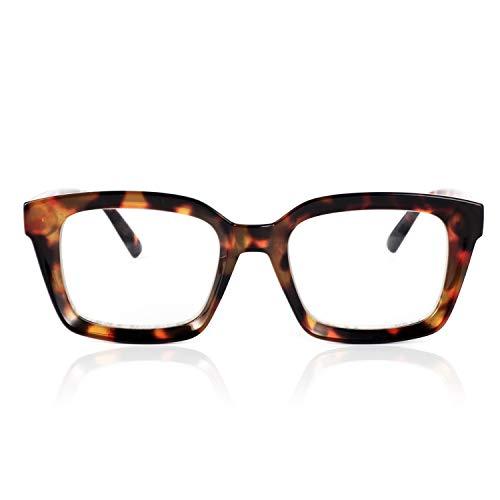 JiSoo Reading Glasses Women 1.5 Stylish, Oversized Peepers Readers 1.5 Women...