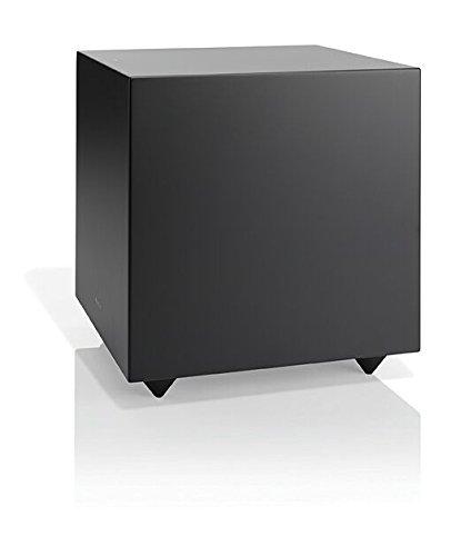 "Audio Pro Addon SUB 8"" Aktiver Bass-Reflex Subwoofer (LFE + RCA, 150W) Schwarz"