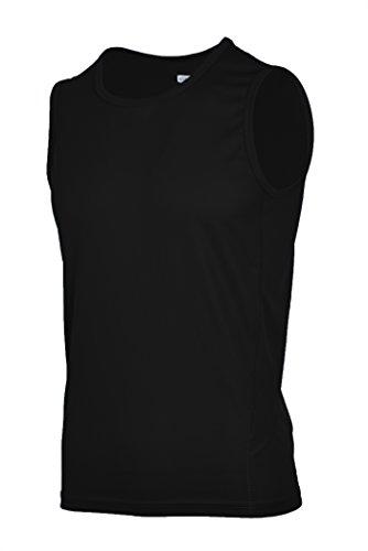 H.MILES Hombre Running sin Mangas Camiseta Transpirable Tank Top para Baloncesto Gimnasio