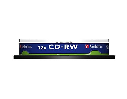 Verbatim 43480 12x CD-RW - 10 Pack Spindle